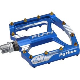 FUNN Python Pedals, blue